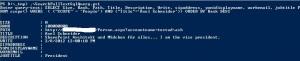 Mit Hilfe des PowerShell-Skriptes könnten Full-Text-Sql-Queries auf einem SharePoint-Server getestet werden.
